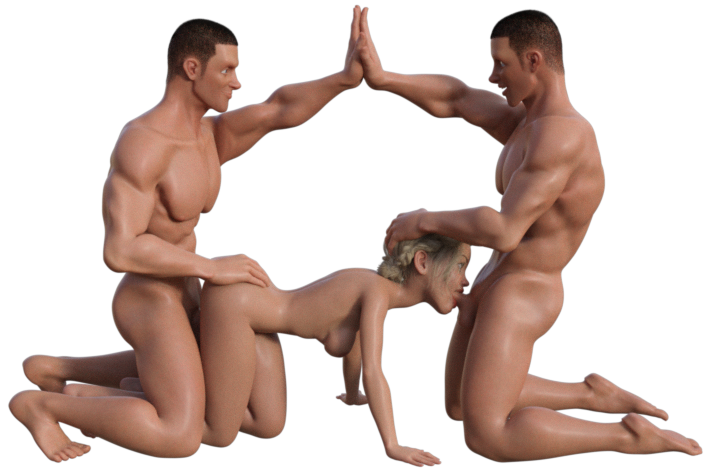 Positions sex three way 12 Best
